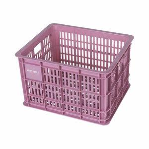 Crate M - fietskrat - roze