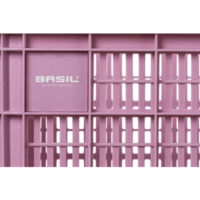 Basil Crate M - Fahrradkiste -  33 Liter - faded blossom