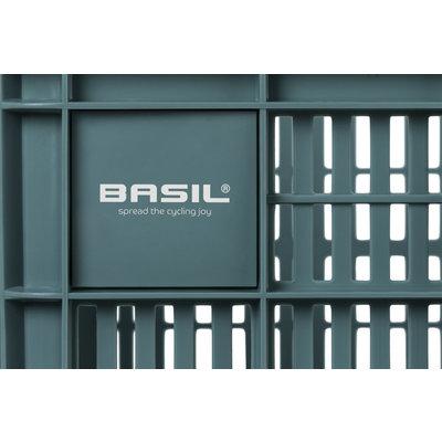 Basil Fahrradkiste M -  33 Liter - seagrass