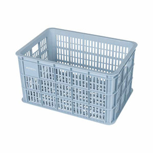 Crate L - bicycle crate - light blue