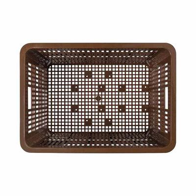 Basil Crate L - fietskrat -  50 liter - saddle brown