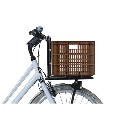 Basil Crate L - Fahrradkiste -  50 Liter - saddle brown