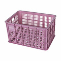 Crate L - bicycle crate - pink