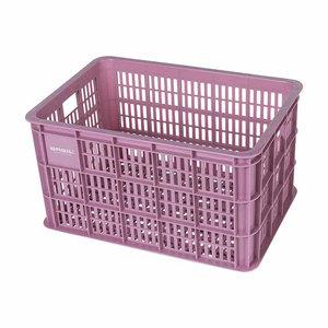 Crate L - fietskrat - roze