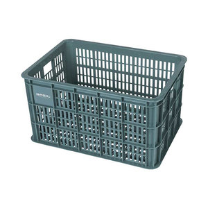 Crate L - bicycle crate - green