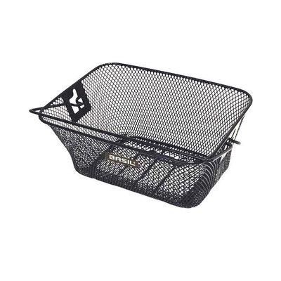 Basil Tigre - junior bicycle basket - front or rear - black
