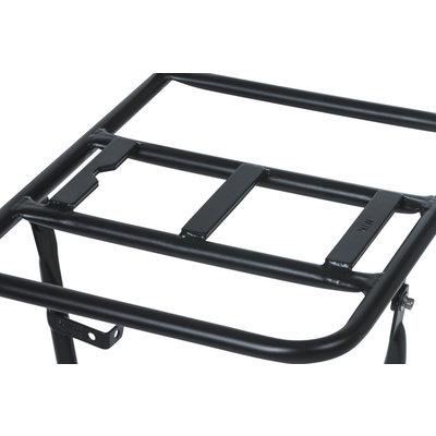Basil front carrier - large - matt black