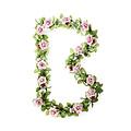 Roses Flower Garland - roze