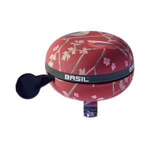 Basil Wanderlust  - fietsbel - 80 mm - rood