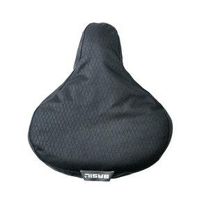Basil Noir - saddle cover - black