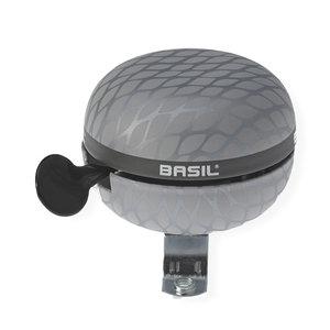 Basil Noir - fietsbel - 60 mm - zilver