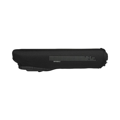 Basil Rear Battery Cover - cover for Bosch battery in luggage carrier - black