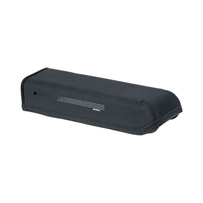 Basil Rear Battery Cover - battery cover for Shimano Steps battery in luggage carrier - black
