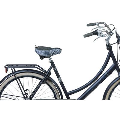 Basil Bohème - saddle cover - indigo blue