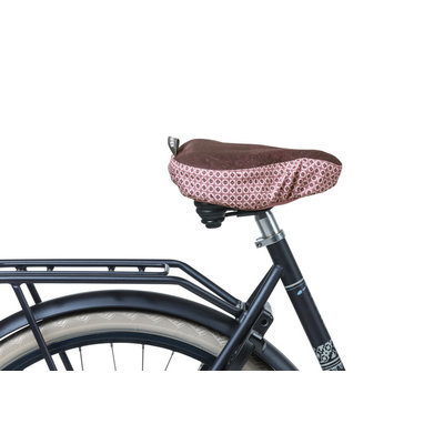 Basil Bohème - saddle cover - red
