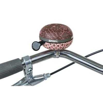 Basil Bohème - Fahrradklingel - 80 mm - fig red