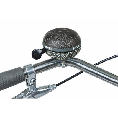 Basil Bohème  - fietsbel - 80 mm - zwart