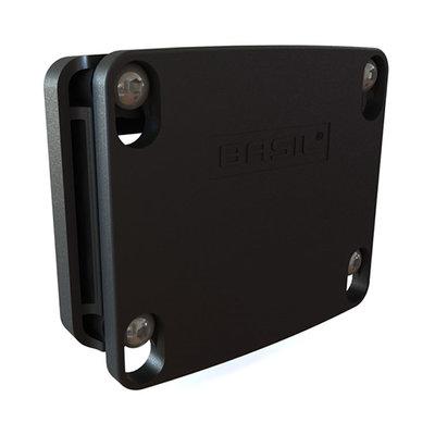 Basil KF – Adapterplatte – schwarz
