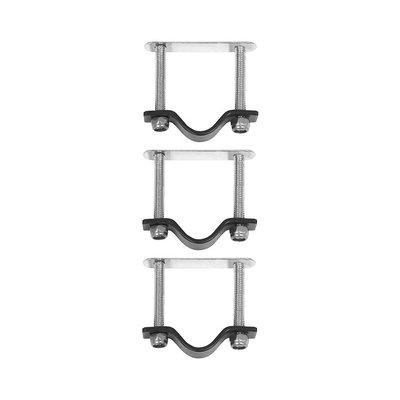 Basil Crate Mounting – Befestigungssatz für Basil Kiste und rattan Körbe – edelstahl