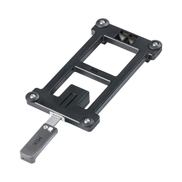 MIK Adapterplatte - schwarz
