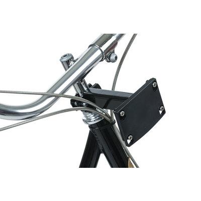 Basil Fixed Mounted - Lenkerrohrhalter – schwarz
