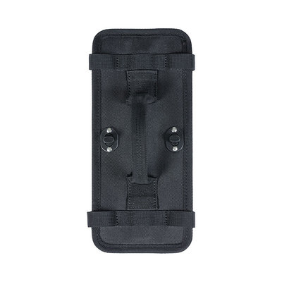 Basil DBS - plate for removable attachment - black