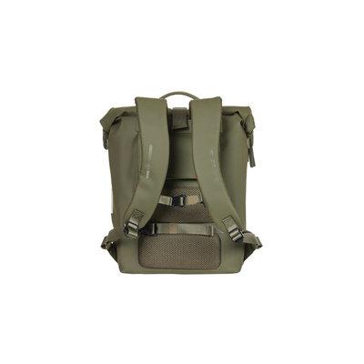 Basil SoHo - bicycle backpack Nordlicht - 17 liter - moss green