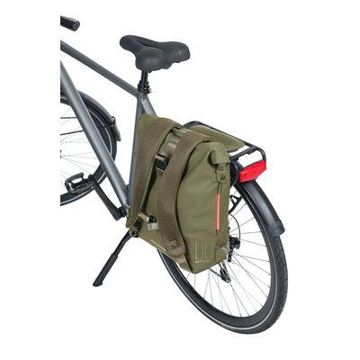 Basil SoHo - fietsrugzak Nordlicht - 17 liter - moss groen