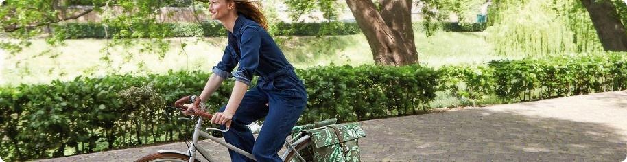 Spring 's op de fiets
