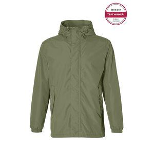 Basil Hoga bicycle rain jacket - unisex - green