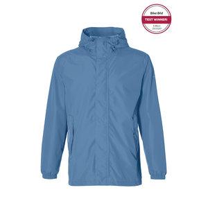 Basil Hoga bicycle rain jacket - unisex - blue