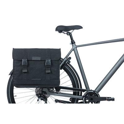 Basil Kavan Eco Classic - dubbele fietstas - 68 liter - zwart