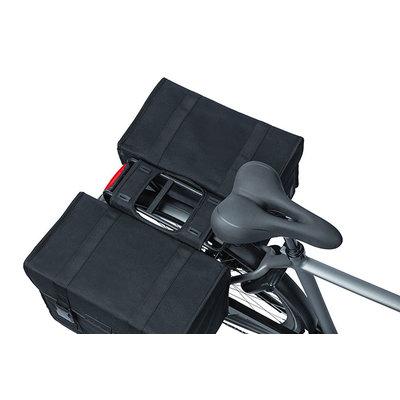 Basil Kavan Eco Classic - Fahrrad Doppeltasche - 68 Liter - schwarz