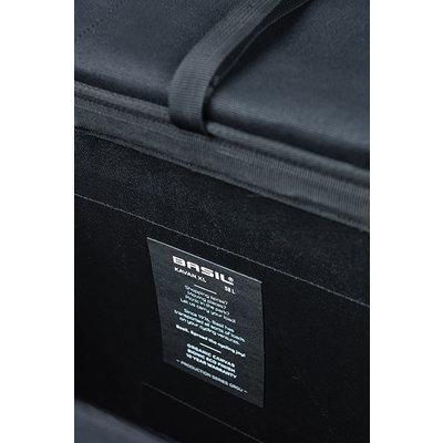 Basil Kavan Eco Classic - Fahrrad Doppeltasche - 58 Liter - schwarz