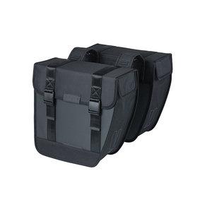 Tour Waterproof - double pannier bag - black
