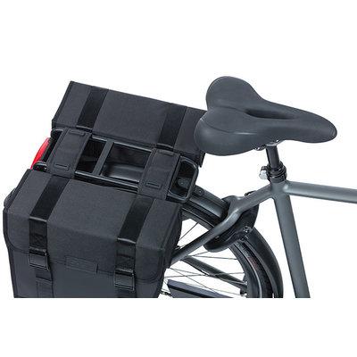 Basil Tour Waterproof - Fahrrad Doppeltasche - 28 Liter - schwarz