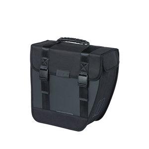 Basil Tour Waterproof Right - Fahrrad Einzeltasche - 14 Liter - schwarz