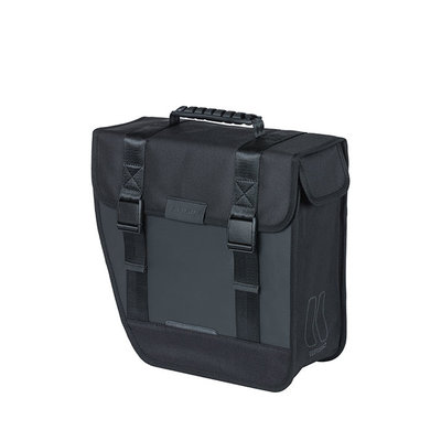 Basil Tour Waterproof Left - single pannier bag - 14 litres - black