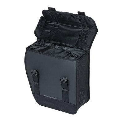 Basil Tour Waterproof Left - Fahrrad Einzeltasche - 14 Liter - schwarz