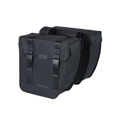 Basil Tour XL - double pannier bag - 35 litres - black