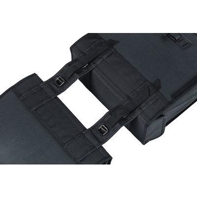 Basil Tour XL - Fahrrad Doppeltasche - 35 Liter - schwarz