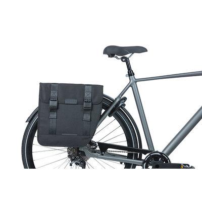 Basil Tour XL - dubbele fietstas - 35 liter - zwart