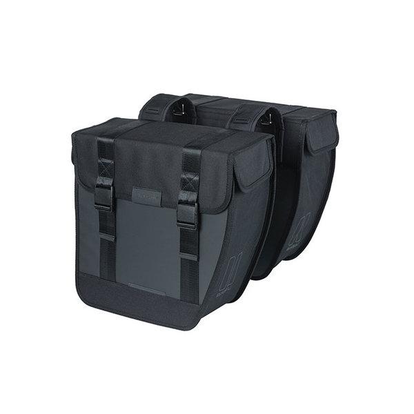 Tour Waterproof XL - Doppeltasche - schwarz