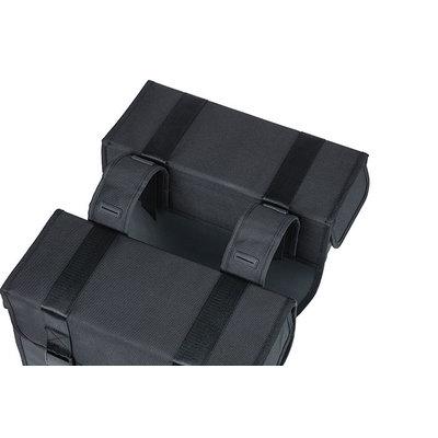 Basil Tour Waterproof XL - Fahrrad Doppeltasche - 35 Liter - schwarz