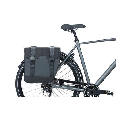 Basil Tour Waterproof XL - double pannier bag - 35 litres - black