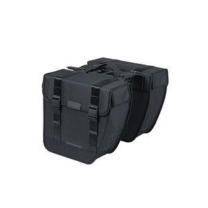 Basil Tour - Fahrrad Doppeltasche MIK - 28 Liter - schwarz