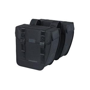 Basil Tour - Fahrrad Doppeltasche - 28 Liter - schwarz