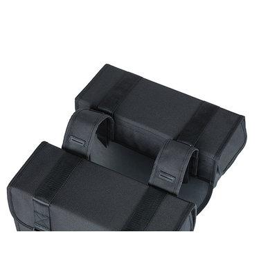 Basil Tour - double pannier bag - 28 litres - black