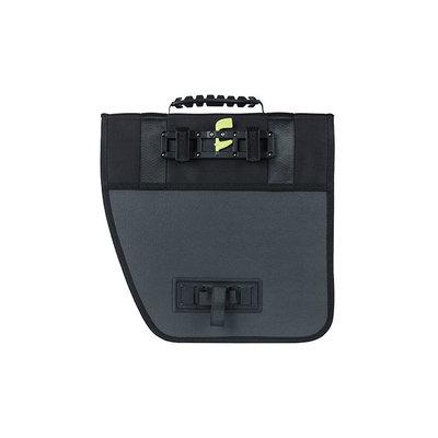 Basil Tour Right - single pannier bag - 14 litres - black