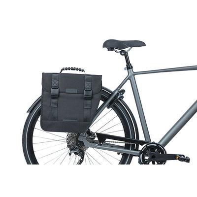 Basil Tour Right - enkele fietstas - 14 liter - zwart